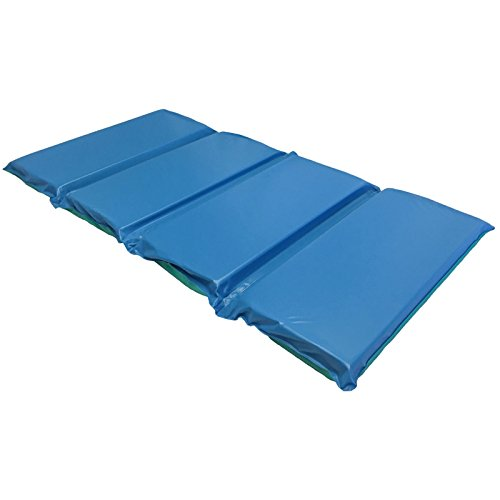 Product Image of the KinderMat, DayDreamer 2' Thick Rest Mat, 4-Section Rest Mat, 48' x 24' x 2',...