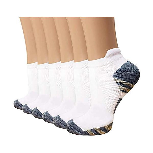Copper Compression Socks Women and Men – Circulation Arch Support Plantar Fasciitis...
