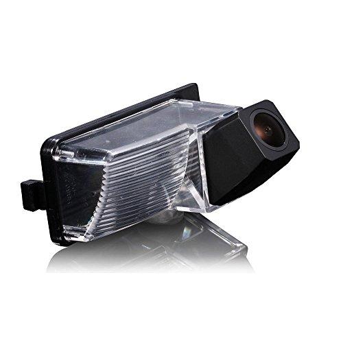 navinio Caméra couleur Caméra de recul aide au stationnement pour numéro de plaque Éclairage de plaque minéralogique pour 370Z 350 Z Tiida Lavina Skyline R35 350 GT 370Z Fair Lady