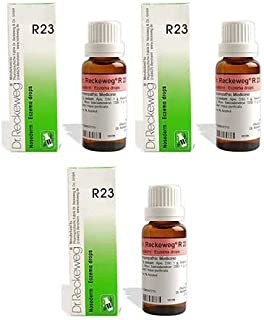 3 x Dr. Reckeweg - Homeopathic Medicine - R23 Eczema Drops.