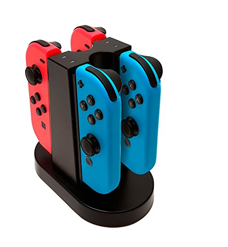 BigBen Nintendo Switch - Quad Charging Station für Joy-Con Controller / Ladestation für 4 Joy-Con Controller
