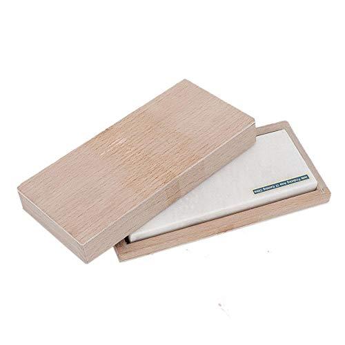 Schärfstein, professioneller Küchenmesserschärfer-Stein, Schmuck-Schleifwerkzeug, Oxid-Entgraten, leistungsfähiges Polierwerkzeug(5 Zoll)