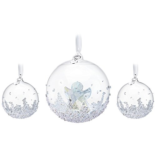 Swarovski Christmas Ball Ornament Set 2015 5136414