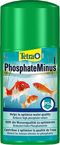 Tetra Pond PhosphateMinus (Wasseraufbereiter zur Reduzierung des Algennährstoffs Phospat im Gartenteich), 250 ml Flasche