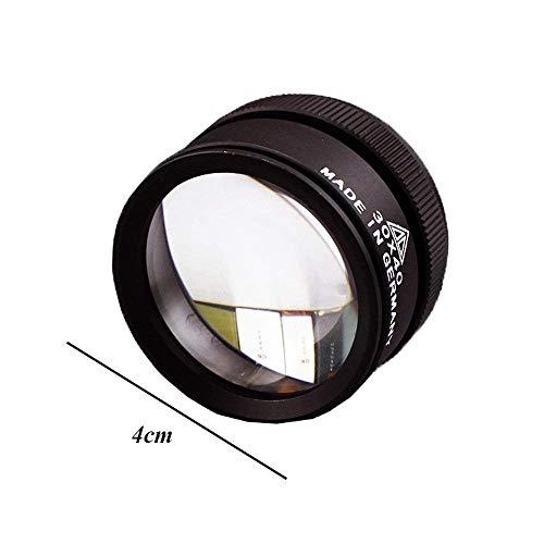 Vergrootglas van de Holding 30x40mm Vergrootglas Double Lens 30 Times Antieke Jade Jade Identification Precision Magnifier Huangwei7210