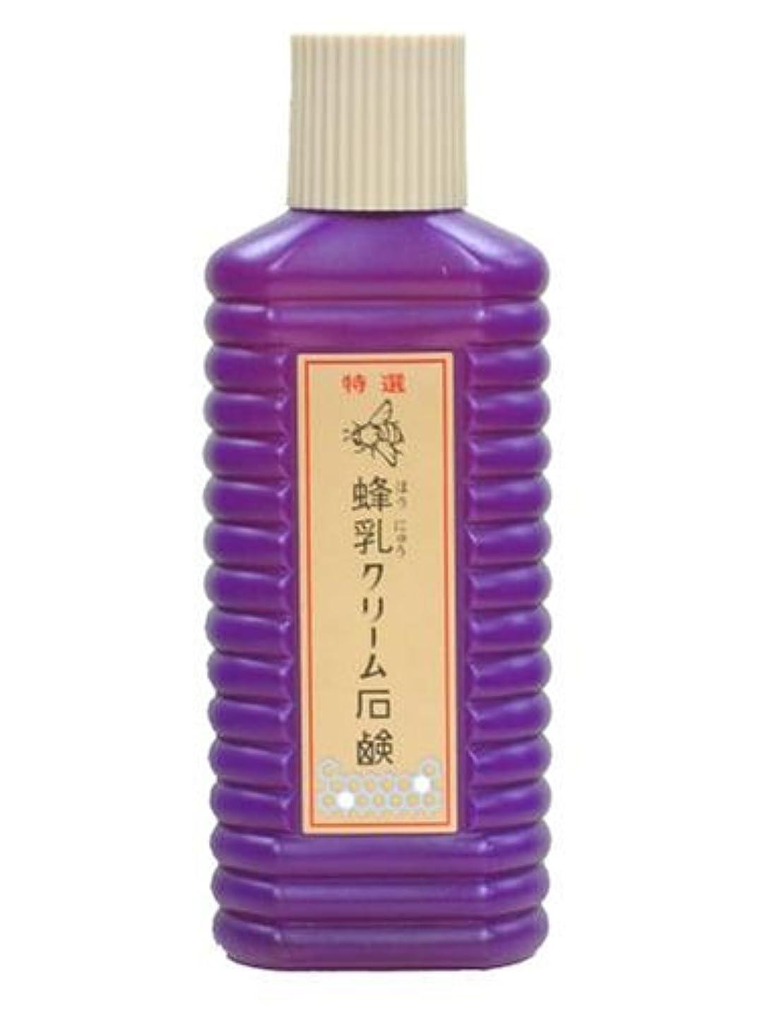 アンテナソース経歴蜂乳 クリーム石鹸(大) 200CC