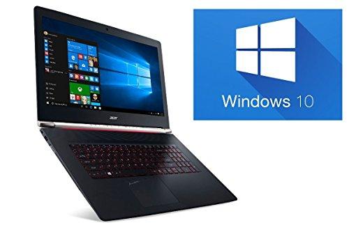 'ACER Vn7792g/16GB RAM/128GB SSD + 1TB ~ Windows 10~ 44cm 17.3FULL HD TFT MATTE ~ 4GB NVIDIA GTX 950M 16GB RAM - 256GB SSD + 1TB HDD
