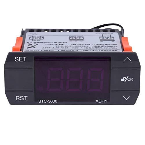 Timagebreze STC-3000 110V-220V 30A Termostato Controlador de...