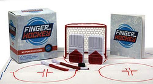 Finger Hockey is a fun Easter basket filler for tween boy