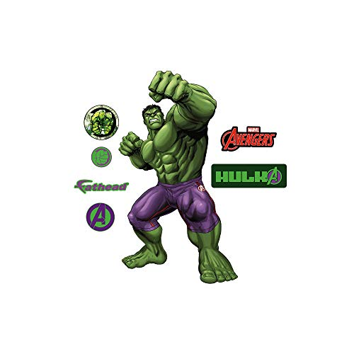 FATHEAD Hulk-X-Large Officially Licensed Marvel Removable Wall Decal