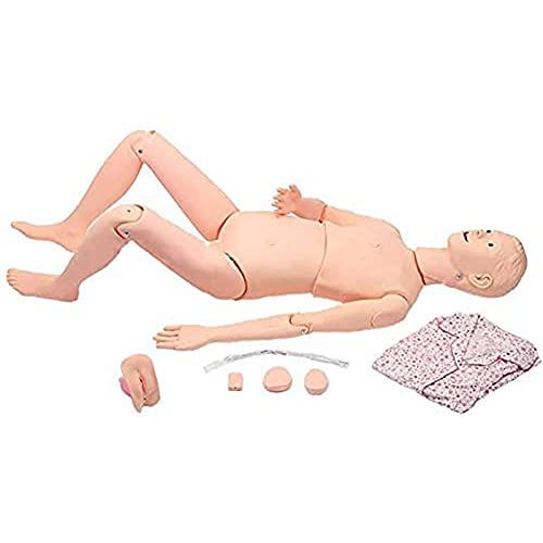 LHMYHHH Operación de reanimación, maniquí de enfermería de PVC, simulador de Entrenamiento Multifuncional, Primeros Auxilios de Limpieza, maniquí de Goma, enseñanza, Suministros médicos