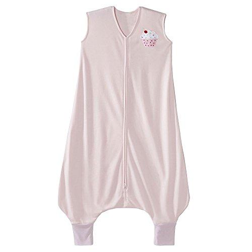HALO Big Kids Sleepsack Lightweight Knit Wearable Blanket, Pink, 2T-3T