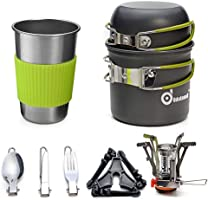 Save 20% on Odoland Camping Cookware Mess Kit