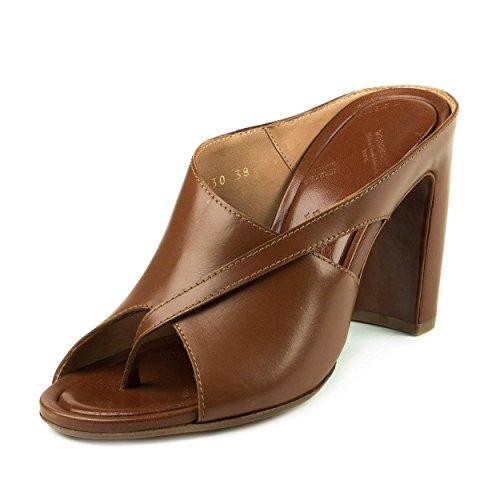 Maison Martin Margiela Womens Slip-on Mule Brown Leather Size 38 EU (8 US)