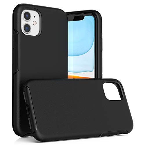 Krichit Ongoing Series Compatible with iPhone 11 case, Anti-Drop and Shock-Absorbing case Compatible with 6.1-inch iPhone 11 case (iPhone 11, Black)