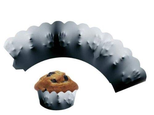 DH-Konzept 12 Cupcake Deko Banderolen * Scream Muffinförmchen Muffin Förmchen Kindergeburtstag Geburtstag Party Kuchen Blut Horror Gruseln Halloween Schock Zombie Ausbruch