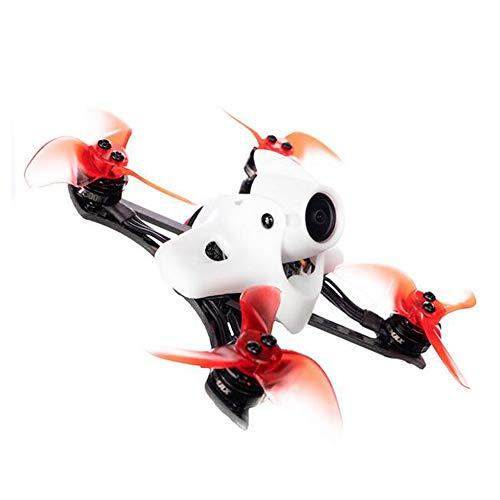 MEIGONGJU Mini-Drohne Modellflugzeug-Fernbedienung 2 Rennen 90mm FPV Kohlefaser Racer