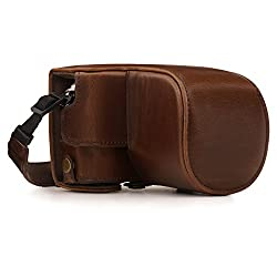 BESPOKE FIT – The MegaGear Premium Leather Camera Case with Battery Access is specifically tailored using high quality leather for the Olympus PEN E-PL10, E-PL9 (14-42mm) models for precision fit and coverage. ENHANCED PROTECTION - Due to its rugged ...