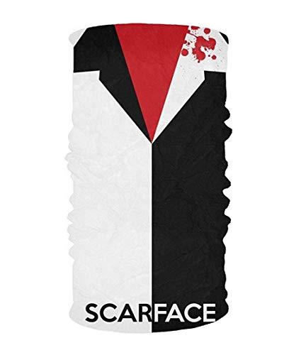 Zwarte Camouflage 16-in-1 Magic Sjaal, Gezichtsmasker, Balaclava Bandana voor Outdoor Sports 10 * 20inchs Eén maat color9