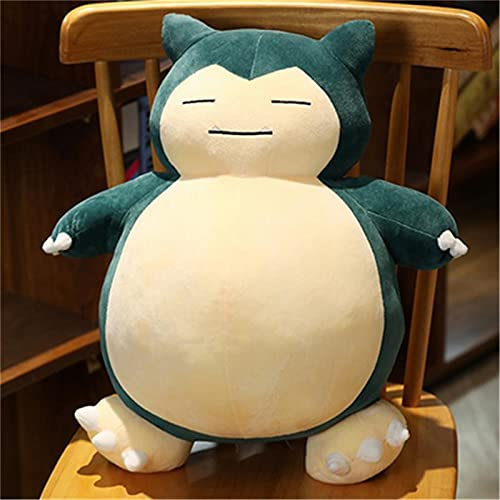 Jumbo Snorlax Plush Toy, Soft Pillow Giant Teddy, Pokemon Center Kabigon Plush Toy, Soft Doll Animal Pillow sufrió Plush Fluffy Figure Gift for Kids (D, 30cm/12in)