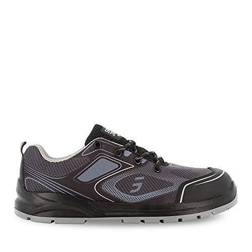 Zapatillas De Seguridad con Puntera De Acero - Gris EU 44, Cómodo Calzado De Trabajo S1P para Hombre y Mujer, Safety Jogger Cador, Antideslizantes y Amortiguadoras