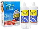 Aquasoft Multipurpose Solution For Soft Contact Lenses Combo Pack (360ml+360ml)