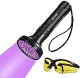 Latest 100 LEDs Linterna UV Ultravioleta LED 395nm,...