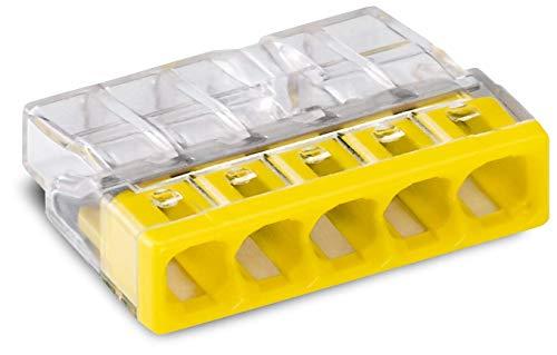 WAGO® Klemme, 5-Leiter, Verbindungsdosenklemme, 2273-205 (100 Stück)