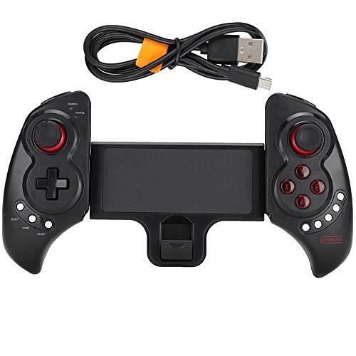 Tosuny Gamepad inalámbrico, Controlador de Mango de Juego Bluetooth, Controlador de Juego Flexible Gamepad para teléfono móvil y Tableta.