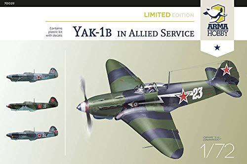 アルマホビー 1/72 ヤコヴレフ Yak-1b 連合軍 リミテッドエディション プラモデル ADL70029