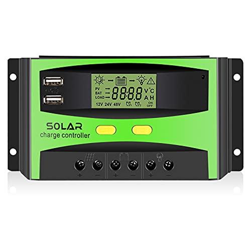 PAIRIER Controlador de Carga Solar...