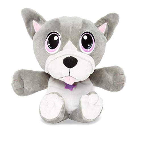 Little Tikes Rescue Tales Cuddly Pup Frenchie Soft Plush Pet Toy, Multicolor