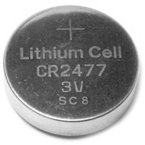 Lot de 2 Piles Batterie CR2477 Lithium 3V Neuve
