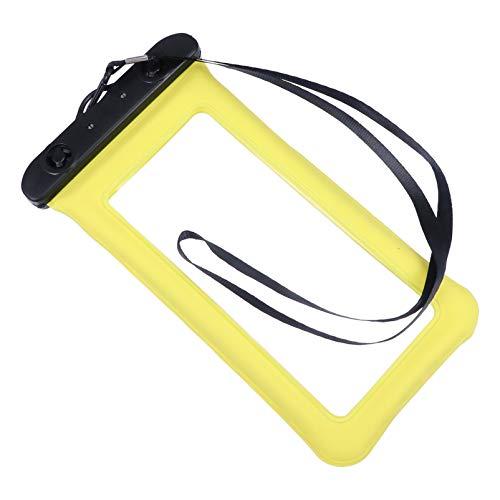 UKCOCO 2 Pzas Funda de Teléfono Impermeable Bolsa De Teléfono Inflable Bolsa Seca Funda Flotante con Correa para El Cuello para Playa Kayak Baño Teclas de Viaje Natación Smartphone
