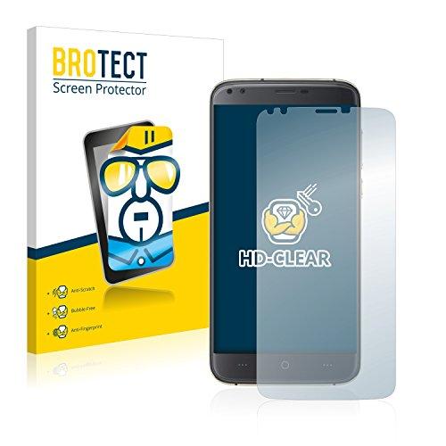 BROTECT Schutzfolie kompatibel mit Doogee X30 (2 Stück) klare Bildschirmschutz-Folie