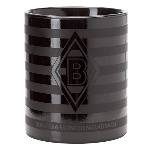 Borussia Mönchengladbach Tasse - Glossy - Becher, Kaffeetasse, Pott, Mug BMG - Plus Lesezeichen I Love Mönchengladbach
