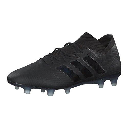 adidas Nemeziz 18.1 FG, Zapatillas de Fútbol Hombre, Negro Negbás Ftwbla 000, 39 1/3 EU