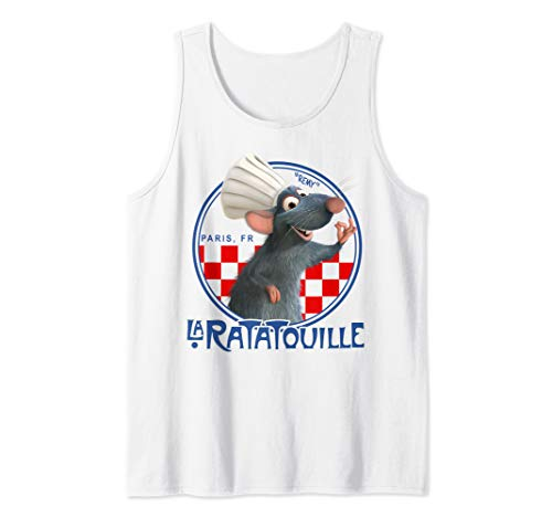 Disney Pixar Ratatouille Remy Chef Hat Portrait Tank Top