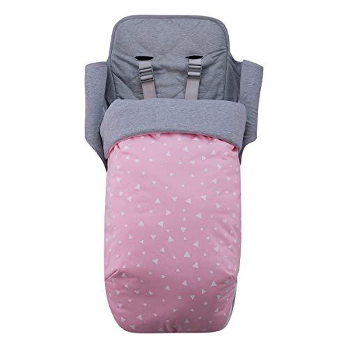 JANABEBE Saco para Maclaren Impermeabilizado (PINK SPARKLES, ALGODON)