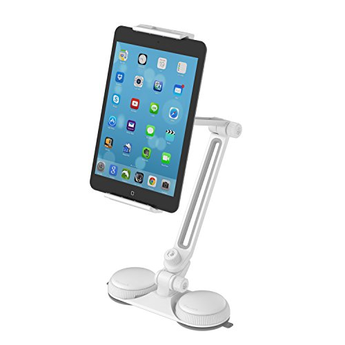 Sabrent Adjustable Stand Suction Cups Holder for iPad and Tablets up to 8