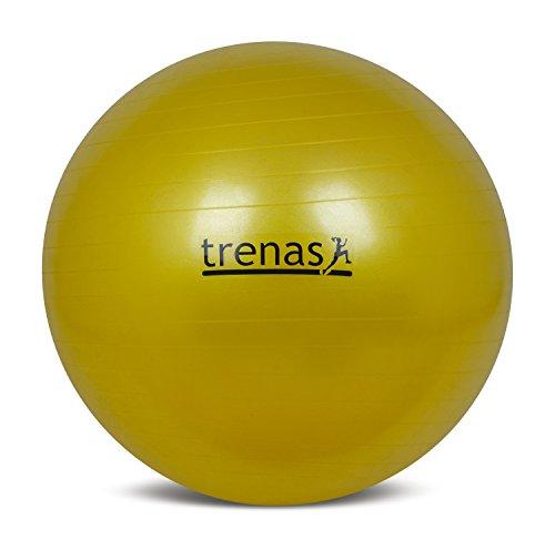 trenas Ballon de Gymnastique – Balle de Fitness – Balle pour séance – Anti-éclatement – 45...