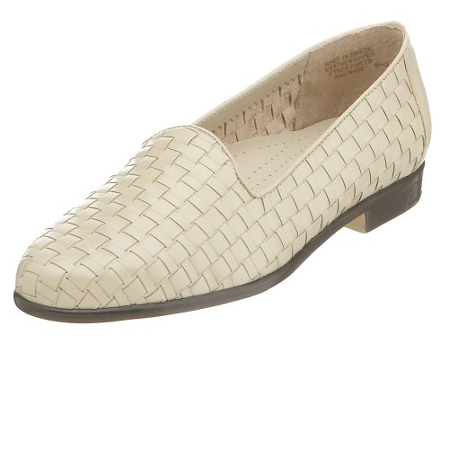 Trotters Women's Liz Loafer,Bone,8 S