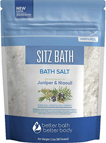 Sitz Bath Soak 32 Ounces Sitz Salt …
