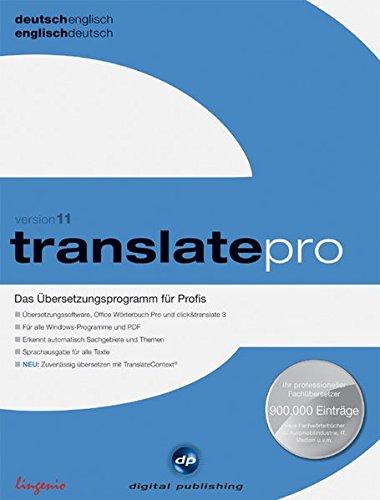 Translate Pro Deutsch Englisch Version 11
