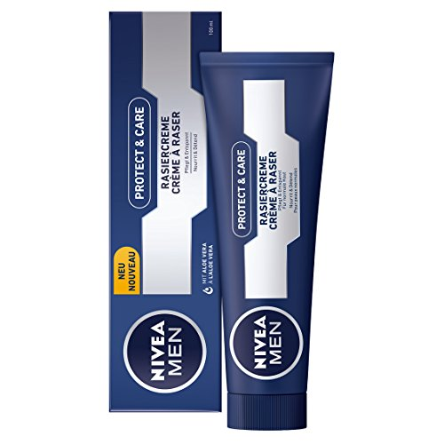 Nivea Men Protect & Care Rasiercreme, 4er Pack (4 x 100 ml)
