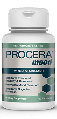Procera Mood - Natural Anxiety & Stress Relief Supplement | Mood Balance Adaptogens & Serotonin Booster | Ashwagandha, Rhodiola, L-Theanine, Stress B-Complex Vitamins, Zinc & Magnesium | 60 Capsules
