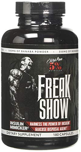 5% Nutrition - Rich Piana Freak Show Capsules, Standard, 180-Count