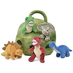 Dinosaur toys for toddlers - plush dinosaur holder