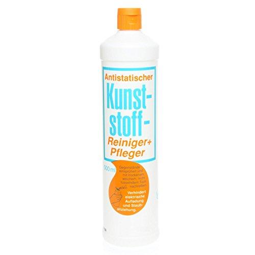 revelis® Kunststoffreiniger Pflegemittel für Kunststoff Reiniger & Pflege antistatisch (500 ml)