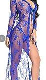 DLDLDL Conjuntos de lencería para Mujer Corsés para Mujer Pijama de una Pieza de Encaje de lencería Sexy-Negro_3XL